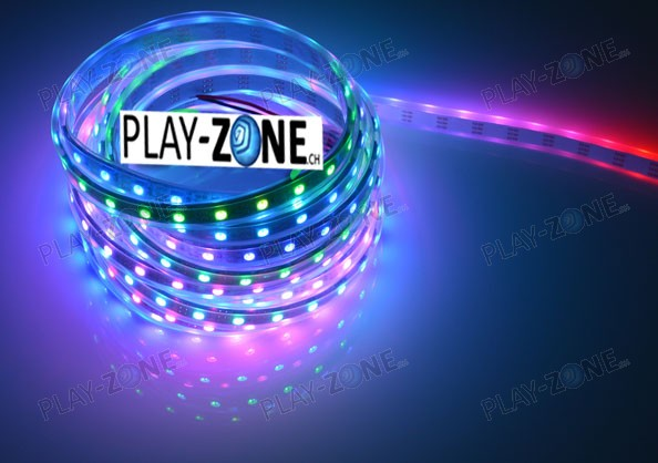 play zone ch neopixel digital rgb led weatherproof strip. Black Bedroom Furniture Sets. Home Design Ideas
