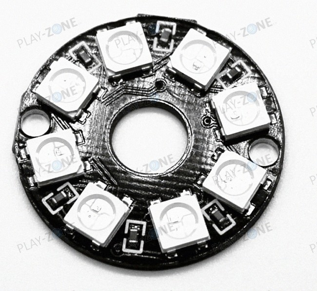 WS2812 Ring with 8 Pixel RGB LEDs (NeoPixel)