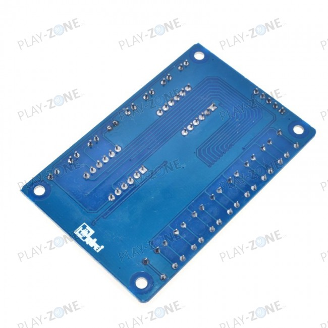 TM1638 Control Panel with Segment-Display, LED, Buttons