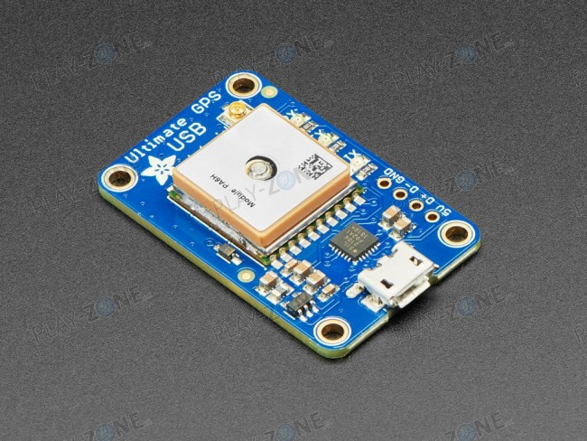 Adafruit Ultimate GPS with USB - 66 channels /10 Hz updates